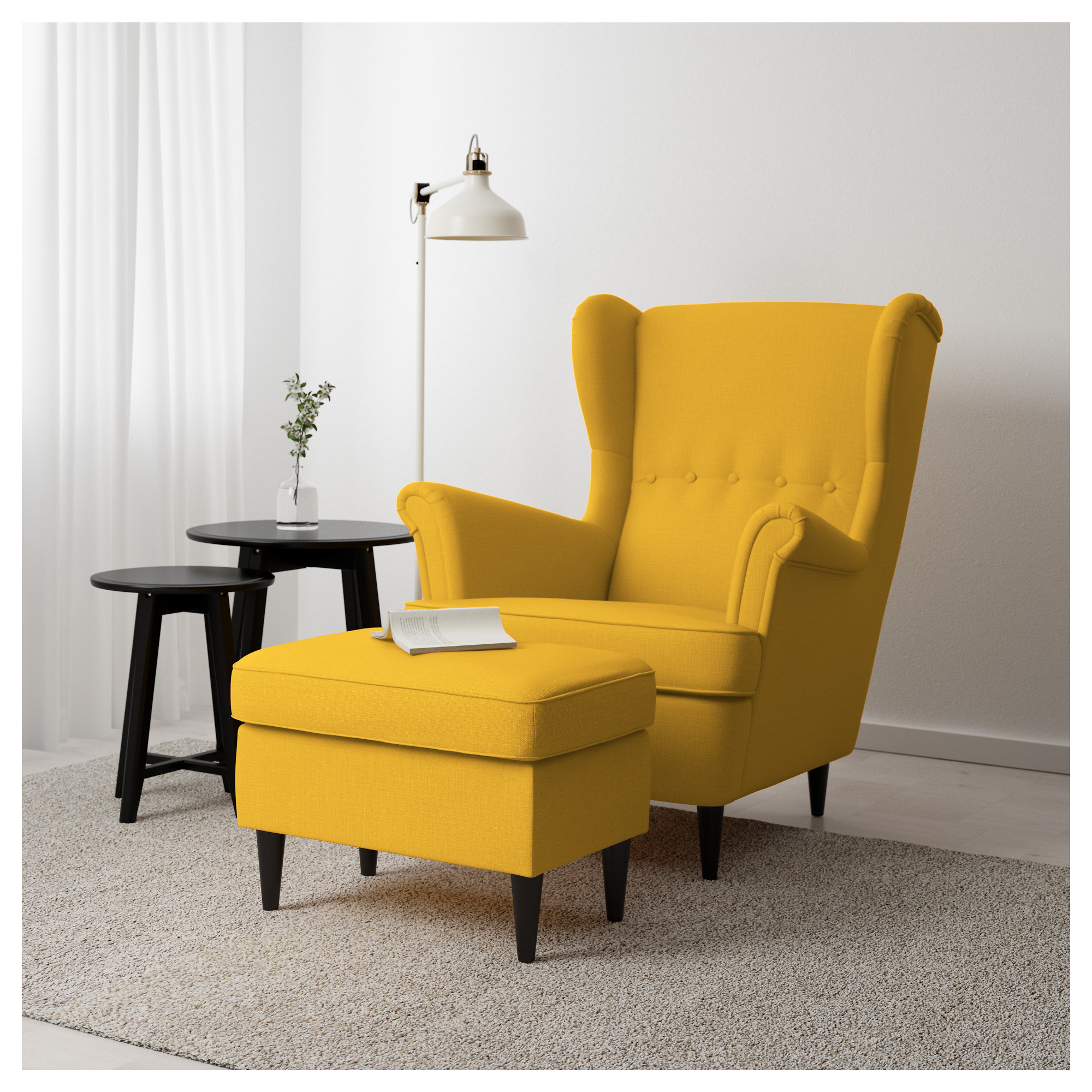 Ikea Yellow Chair Sofa Cute Modern Dining