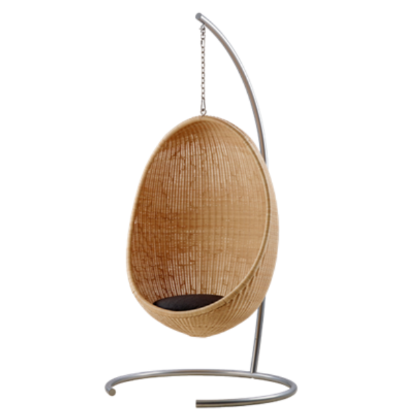 indoor hanging egg chair