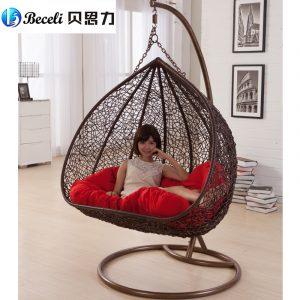 indoor swing chair swing rocking chair indoor outdoor balcony casual rattan hanging chair double hanging basket