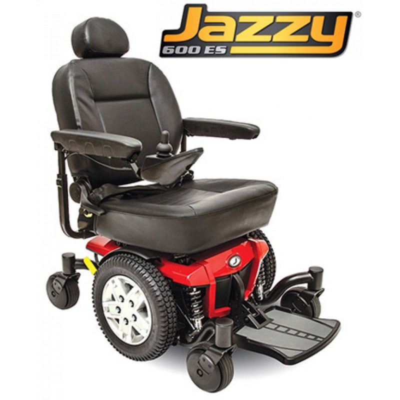 jazzy power chair jazzy es power wheelchair