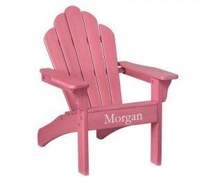 kids adirondack chair pinkchair