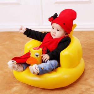 kids inflatable chair month years old baby learn seat children sofa small portable baby chair inflatable