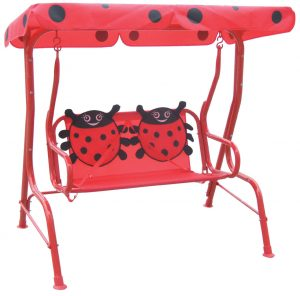 kids swing chair ladybug swing chair