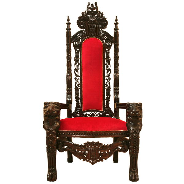 king throne chair large