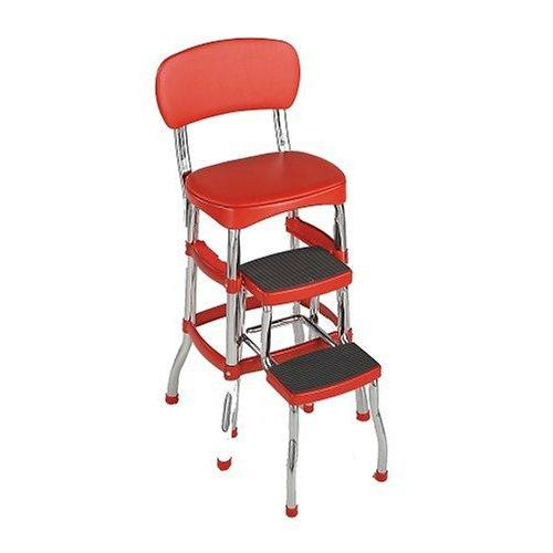 kitchen step stool chair x retro chair step stool