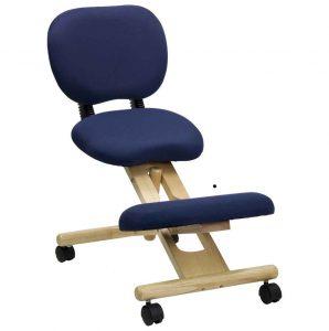 kneeling office chair blue fabric kneeling office chairs