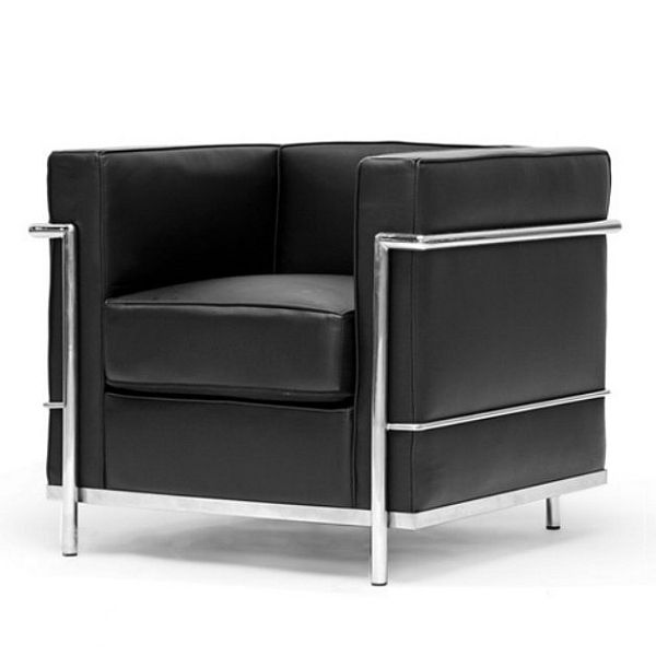 le corbusier chair armchair leather