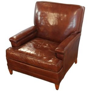 leather club chair z