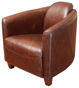 leather club chair midcentury armchairs
