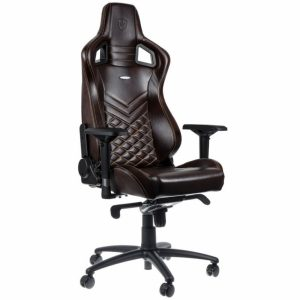 leather gaming chair epicrealleather blackbeige