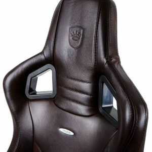 leather gaming chair epicrealleather blackbrown