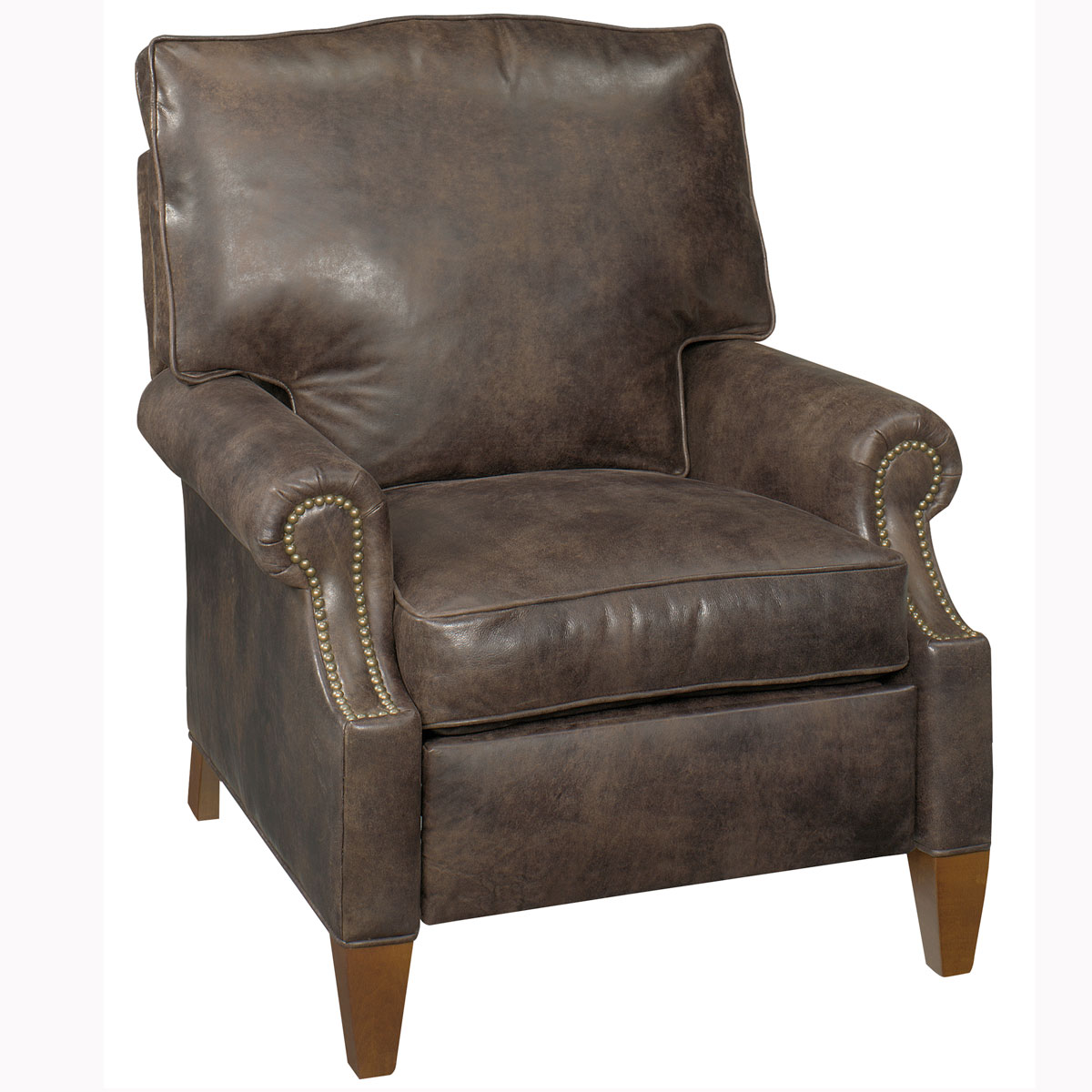 leather recliner chair carson designer style contemporary leather reclining chair