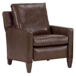 leather recliner chair kirk tall leg leather reclining chair