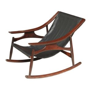 leather rocking chair x l