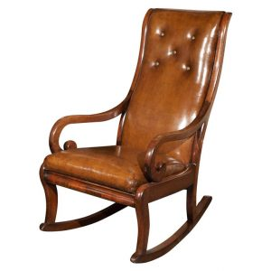 leather rocking chair xp