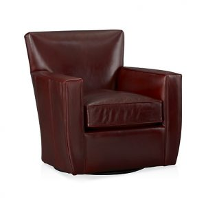 leather swivel chair streeter leather swivel chair