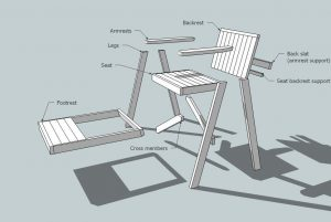 lifeguard chair plans woodworking plans lifeguard chair