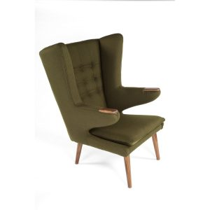 lounge chair with ottoman stilnovo fecgrn