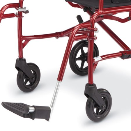 medline ultralight transport chair