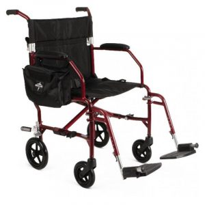 medline ultralight transport chair mdsfr