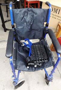 medline ultralight transport chair s l