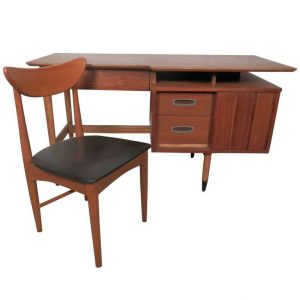 mid century modern desk chair l