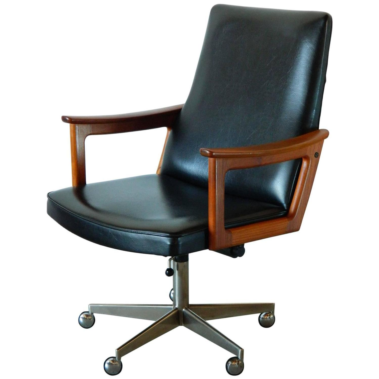 mid century modern desk chair