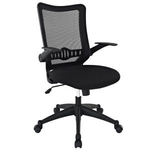 midback office chair modway explorer mid back office chair in black