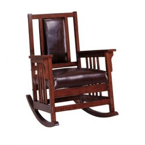 mission style rocking chair encxwl l