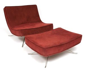 modern chair and ottoman ligne roset chair and ottoman