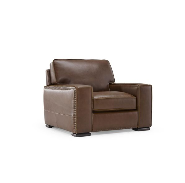 natuzzi leather chair
