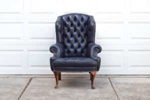 navy blue wingback chair il fullxfull gsx