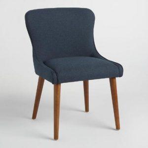 navy wingback chair xxx v