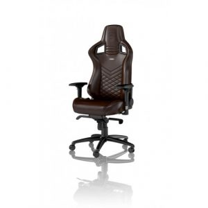 noble gaming chair noble chairs epic real leather gaming chair brown black occasin f