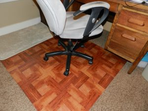 office chair on carpet home made office chair mat