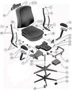 office chair replacement parts office chair parts