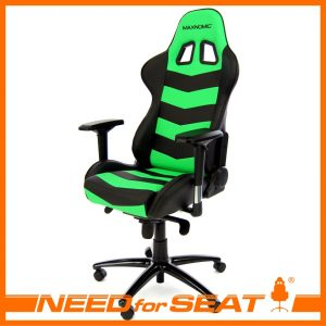 office gaming chair thunderbolt green