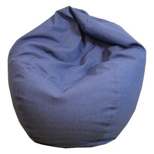 orange bean bag chair durable denim bean bag chair