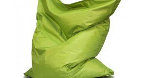 orange bean bag chair pillow m x
