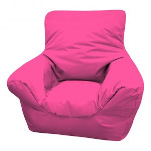 orange bean bag chair purple bean bag chair combined with arm rest also back