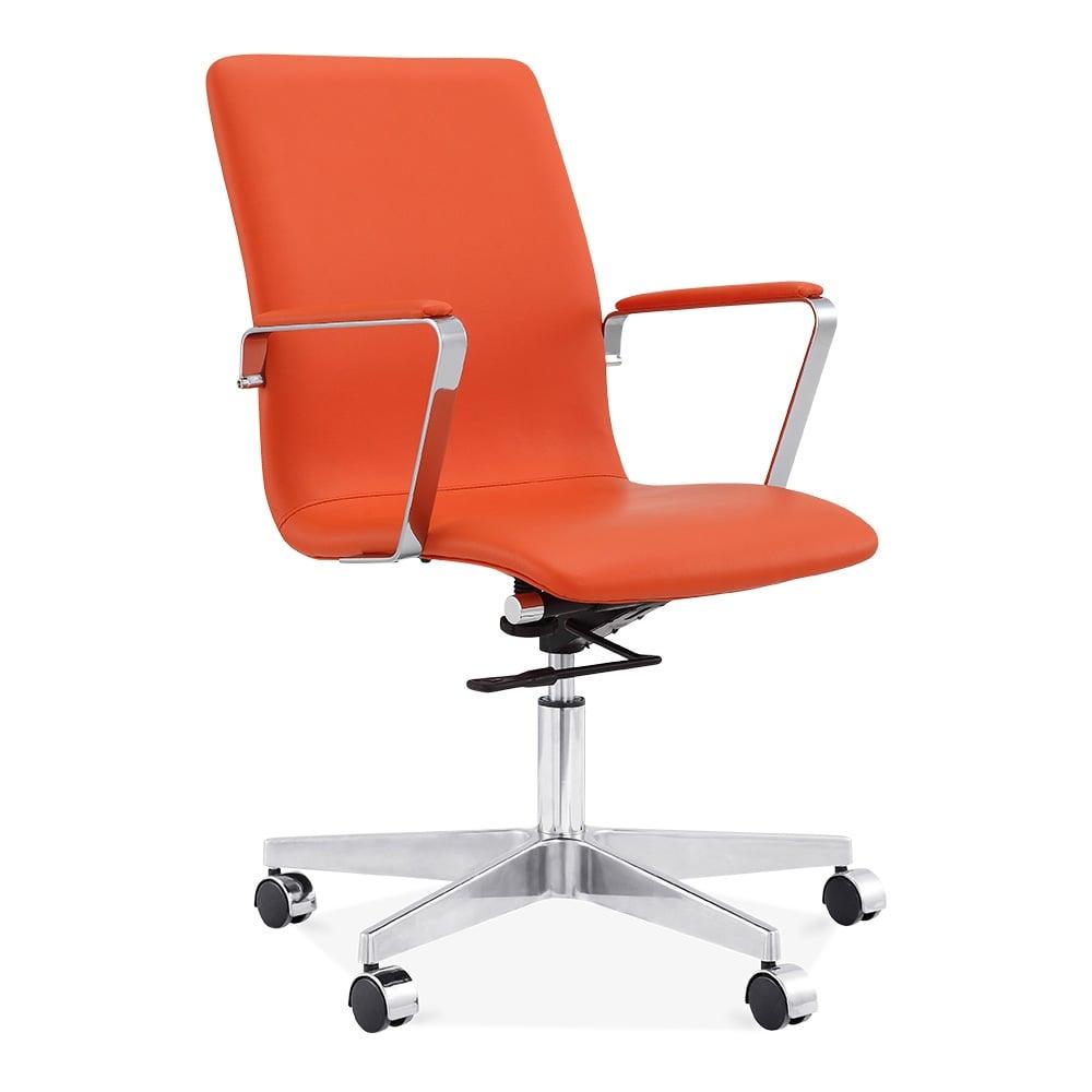 orange office chair
