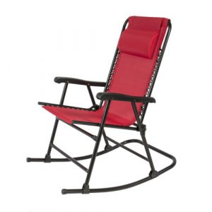 outdoor folding rocking chair $