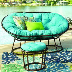 outdoor papasan chair ps