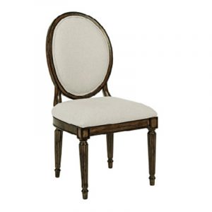 oval back dining chair kincaid
