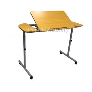 over chair table nrs adjustable tilting over bed over chair table p image