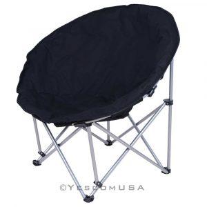 oversized saucer chair chr moonin p