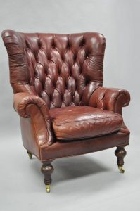 oversized tufted chair dsc l