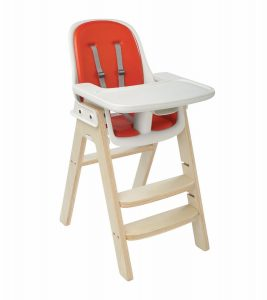 oxo high chair oxo tot sprout chair orange birch