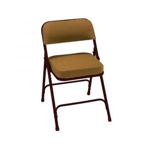 padded folding chair chair folding fabrc gd br