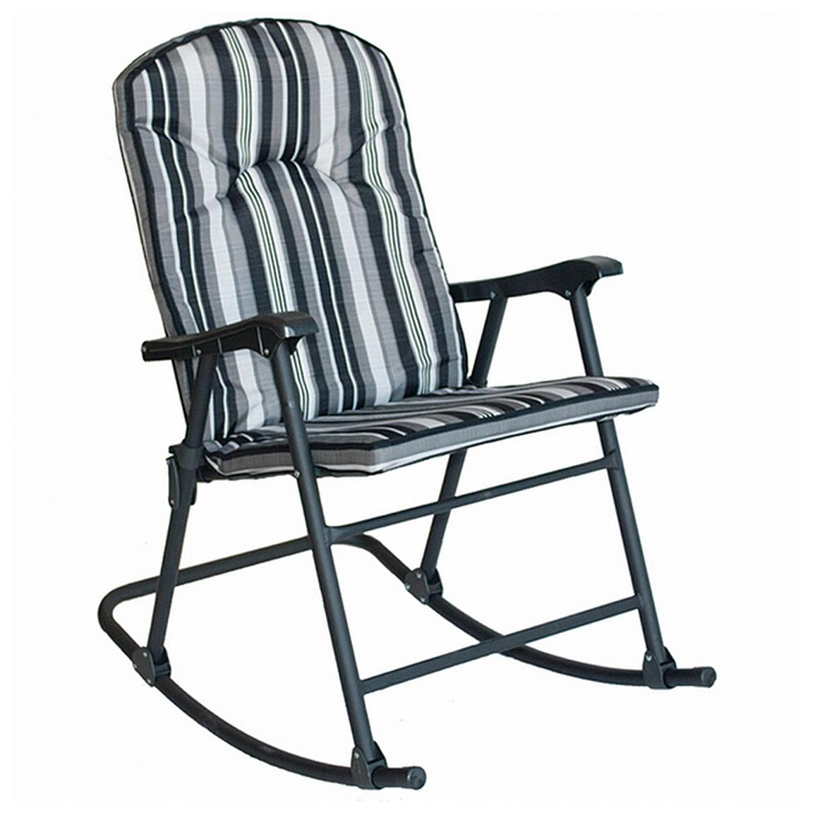 padded rocker chair